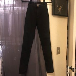 American Apparel - The Easy Jean size XS in Black